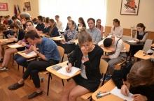 Zdjęcie z galerii Egzaminy z języka polskiego