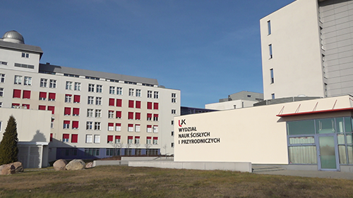 Budynek Wydziału Nauk Ścisłych i Przyrodniczych