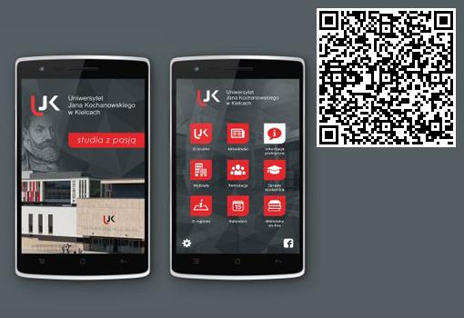 Aplikacja mobilna UJK