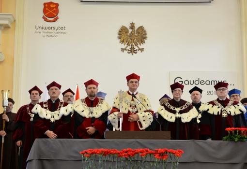 Uroczysta inauguracja nowego roku akademickiego