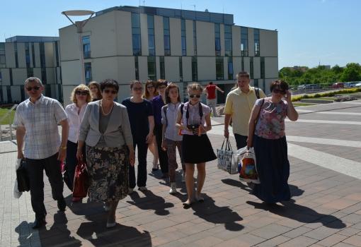 Goście z Omska na UJK