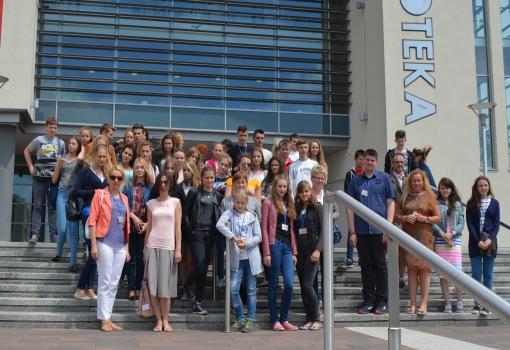 Letnia szkoła z wizytą na UJK