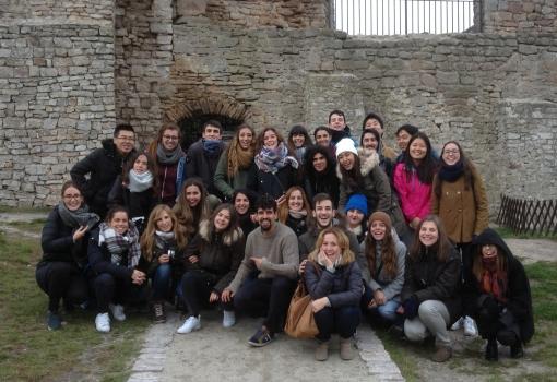 Jesienna wycieczka z Erasmusem