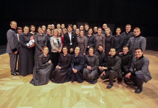 Chór UJK na scenie Opery Narodowej
