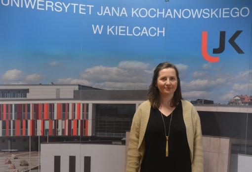 Anglistka z UJK otrzymuje stypendium Marie Curie