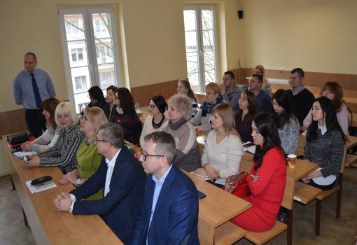 Ukraińscy wykładowcy poznają UJK